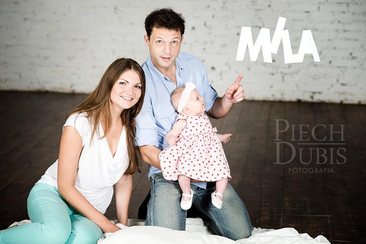Mila z Rodzicami