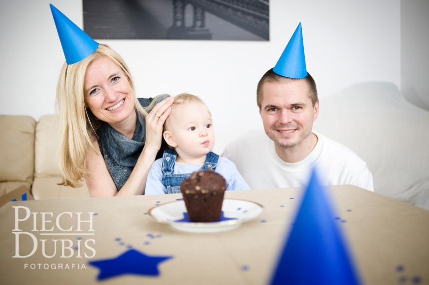 Pierwsze urodziny Kubusia