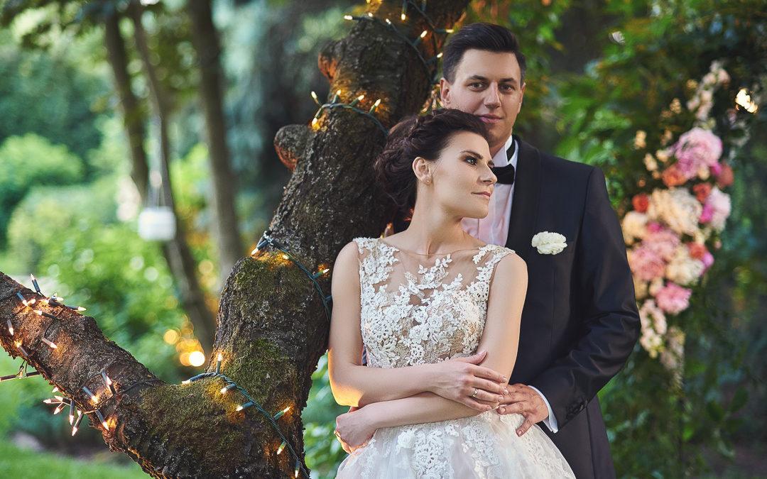 Fotoreportaż ze ślubu Ani i Patryka / Villa Julianna