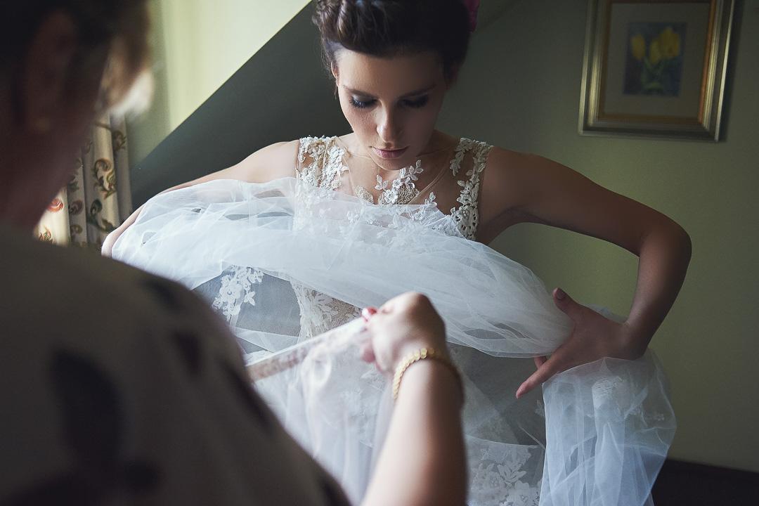 Fotoreportaż ze ślubu Ani i Patryka / Villa Julianna 29