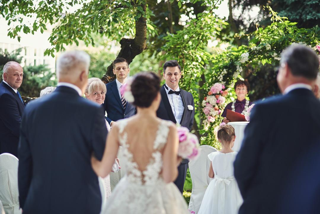 Fotoreportaż ze ślubu Ani i Patryka / Villa Julianna 44