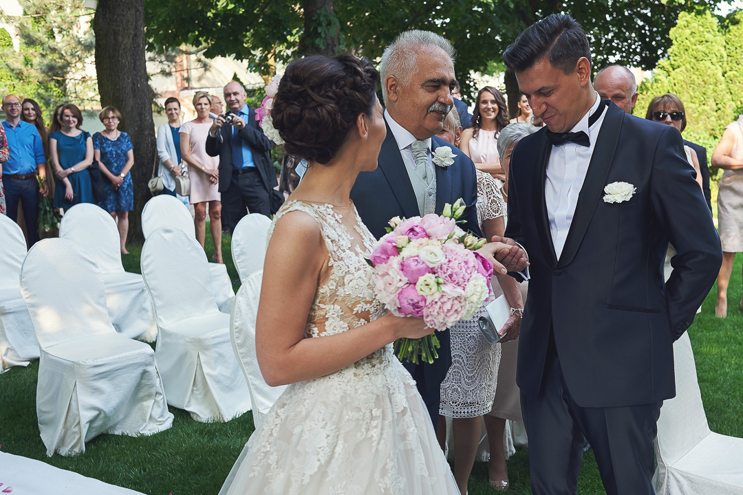 Fotoreportaż ze ślubu Ani i Patryka / Villa Julianna 45