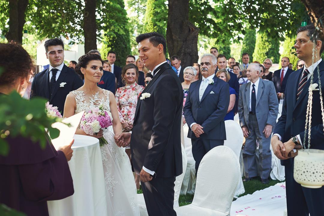 Fotoreportaż ze ślubu Ani i Patryka / Villa Julianna 53