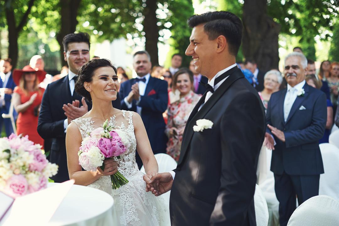 Fotoreportaż ze ślubu Ani i Patryka / Villa Julianna 58