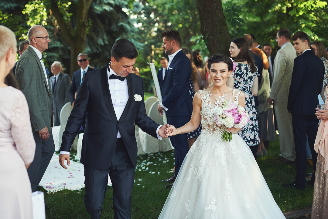 Fotoreportaż ze ślubu Ani i Patryka / Villa Julianna 66