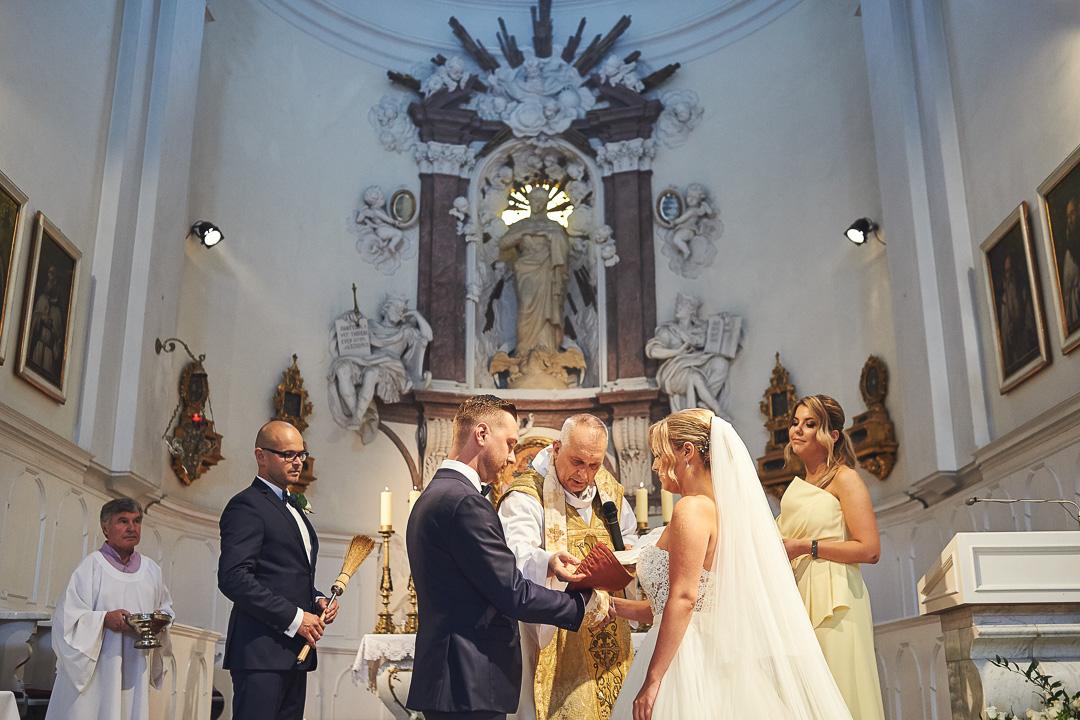 A+M - fotoreportaż ślubny / Lasek Bielański / Villa Omnia 44