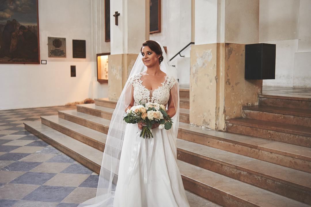 D+F - fotoreportaż ślubny/Kościół św. Jacka, ul. Freta, Warszawa 26