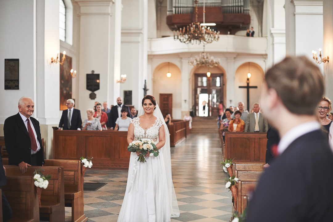 D+F - fotoreportaż ślubny/Kościół św. Jacka, ul. Freta, Warszawa 28