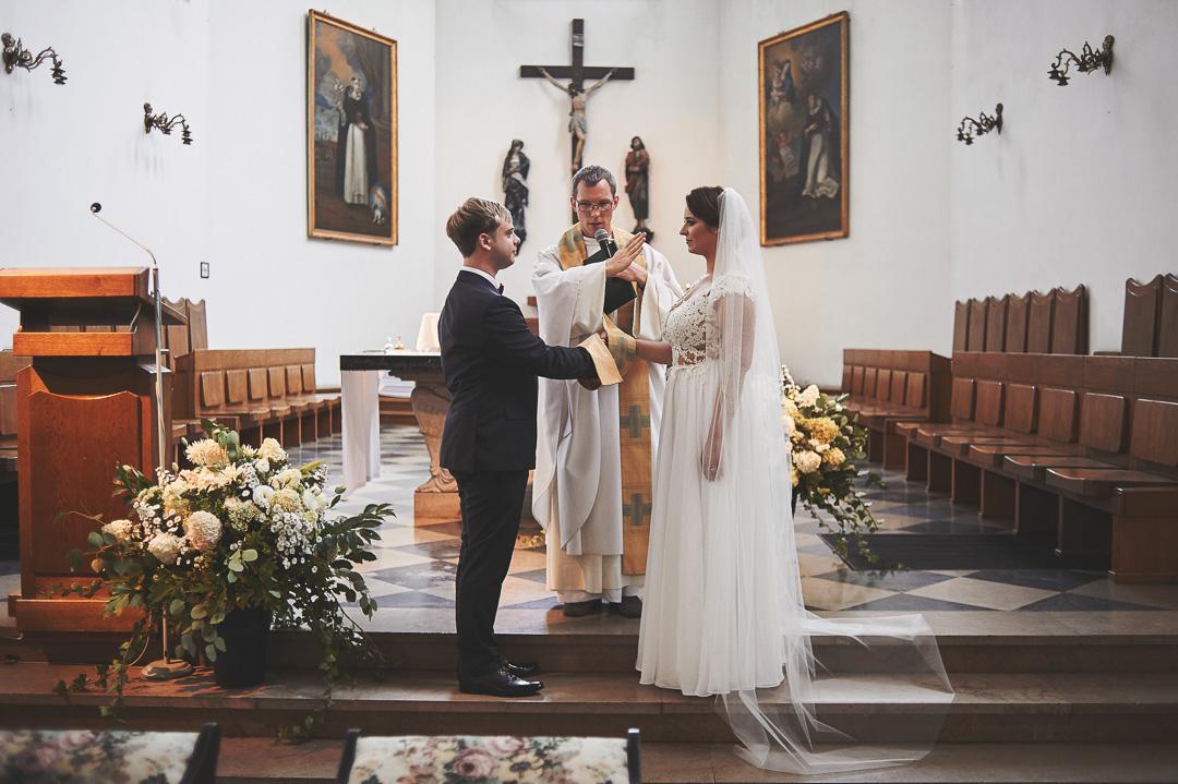 D+F - fotoreportaż ślubny/Kościół św. Jacka, ul. Freta, Warszawa 35