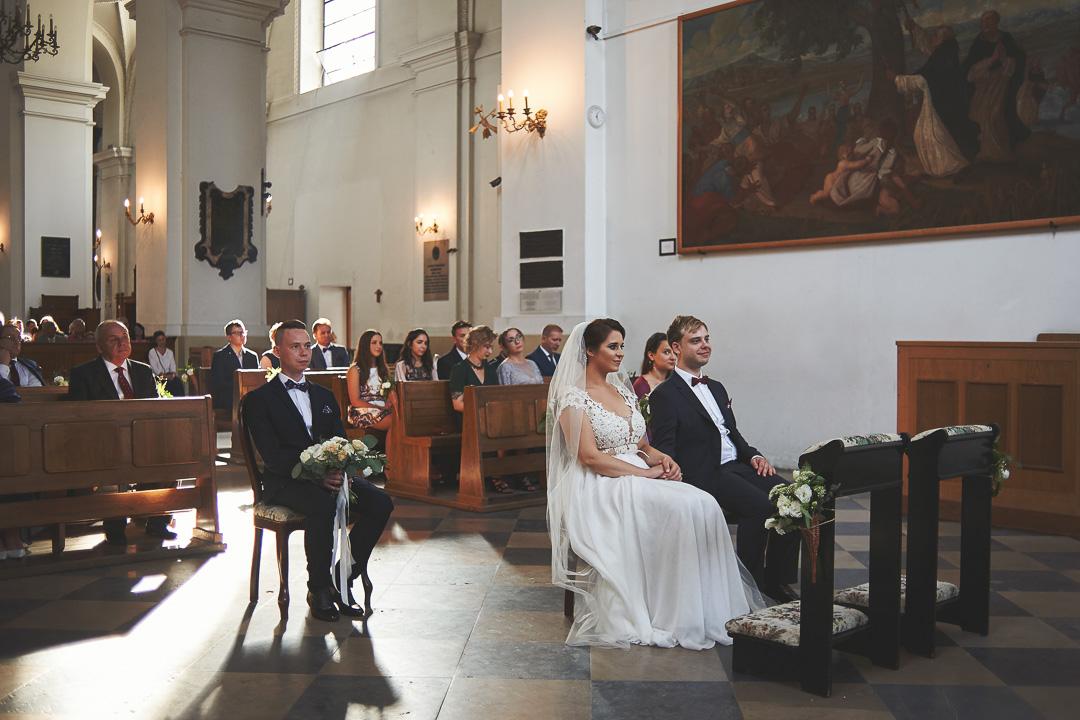 D+F - fotoreportaż ślubny/Kościół św. Jacka, ul. Freta, Warszawa 41