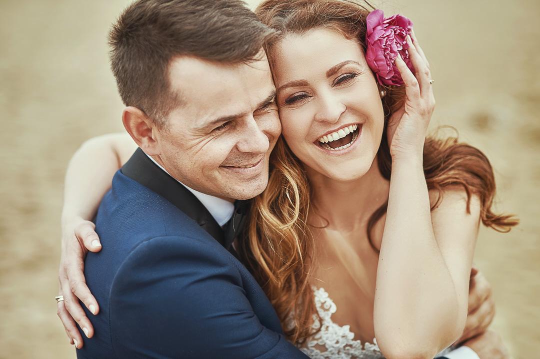 Plener ślubny w Warszawie na plaży 4