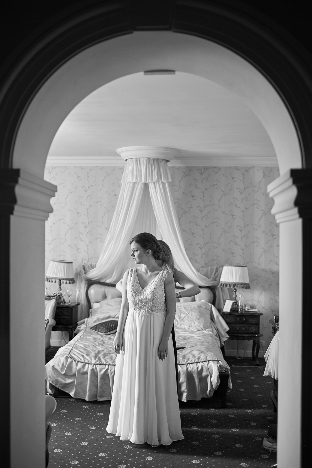 Fotoreportaż ślubny w Pałacyku Otrębusy 7