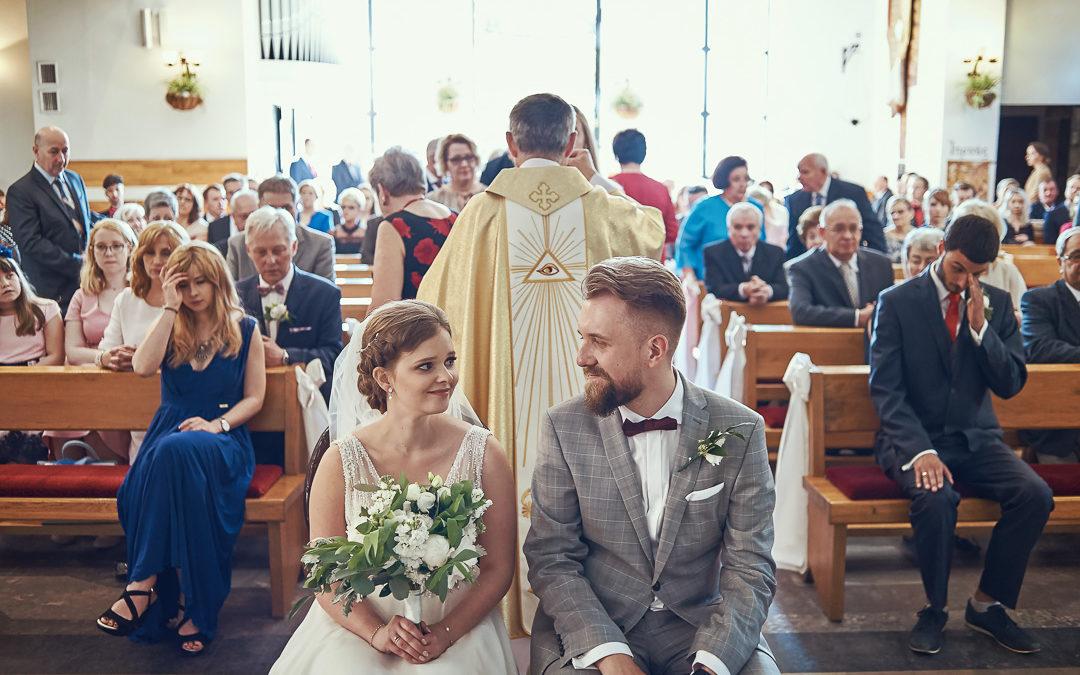 Fotoreportaż ślubny w Pałacyku Otrębusy