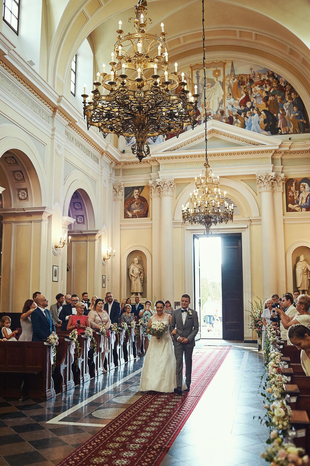 A+M - fotoreportaż ślubny Wilanów - Warszawa / Kościół św. Anny Wilanów 46