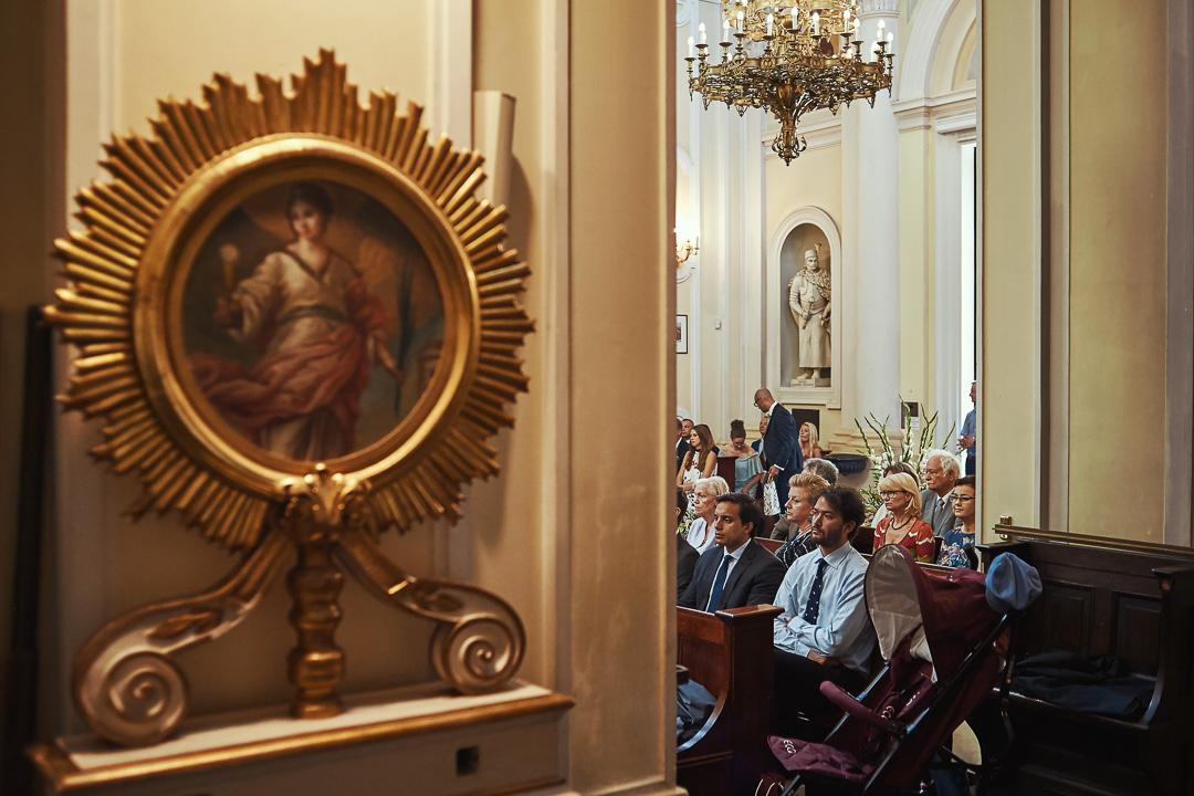 A+M - fotoreportaż ślubny Wilanów - Warszawa / Kościół św. Anny Wilanów 47