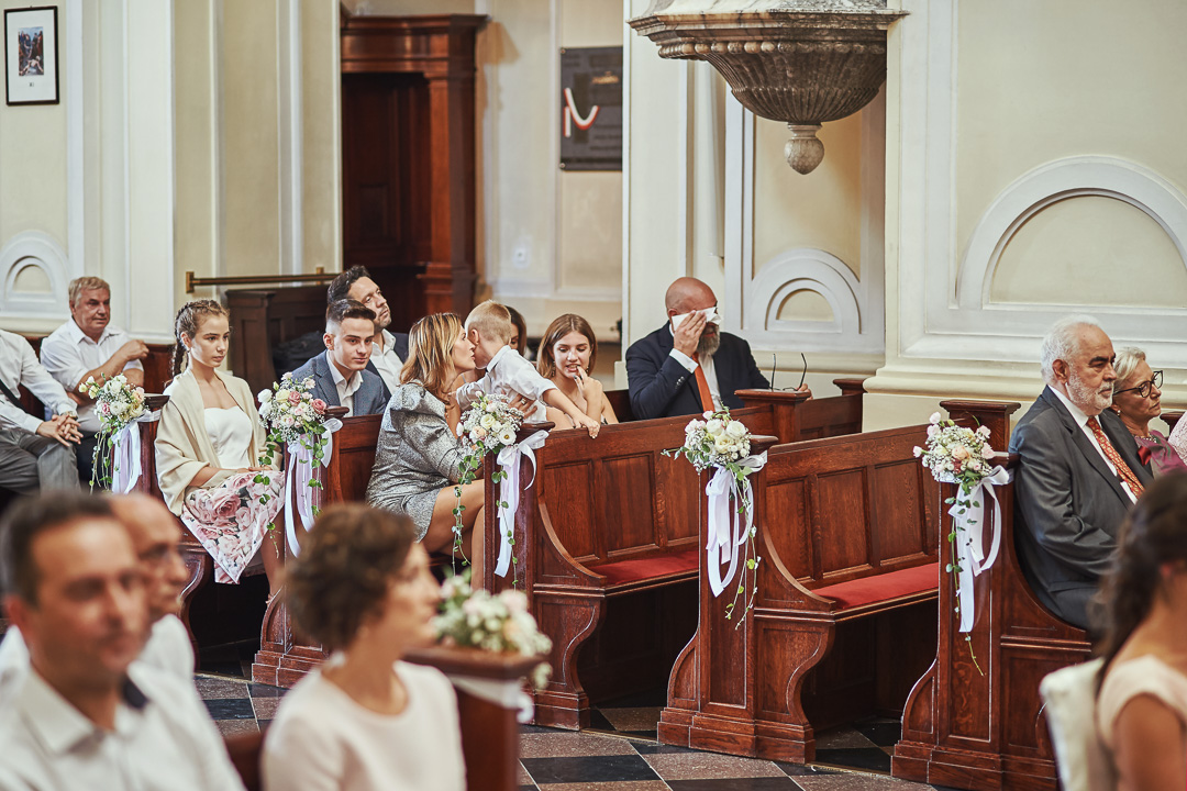 A+M - fotoreportaż ślubny Wilanów - Warszawa / Kościół św. Anny Wilanów 57