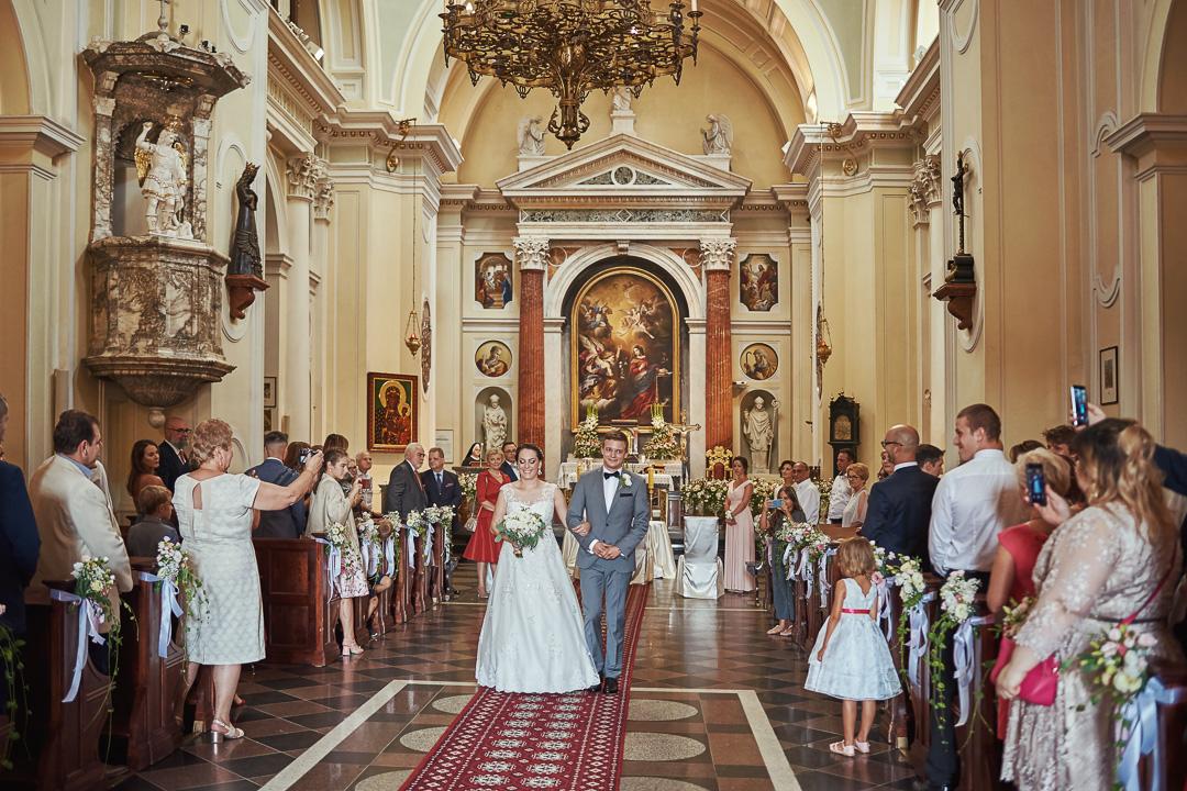A+M - fotoreportaż ślubny Wilanów - Warszawa / Kościół św. Anny Wilanów 59